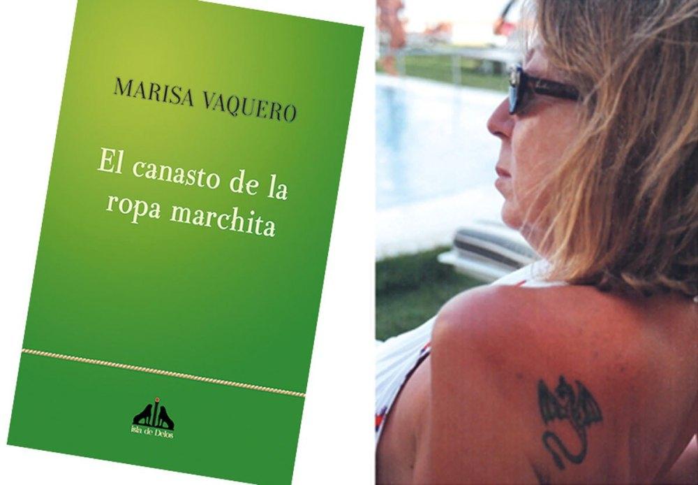 El canasto de la ropa marchita, último poemario de Marisa Vaquero
