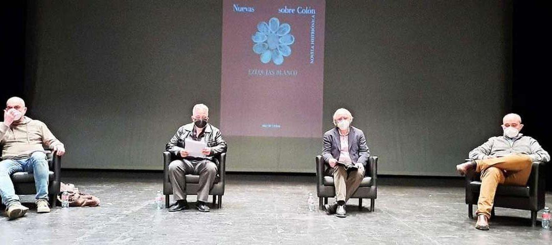 Presentaciónde la novela de Ezequías Blanco, Nuevas nuevas sobre Colón, en Getafe